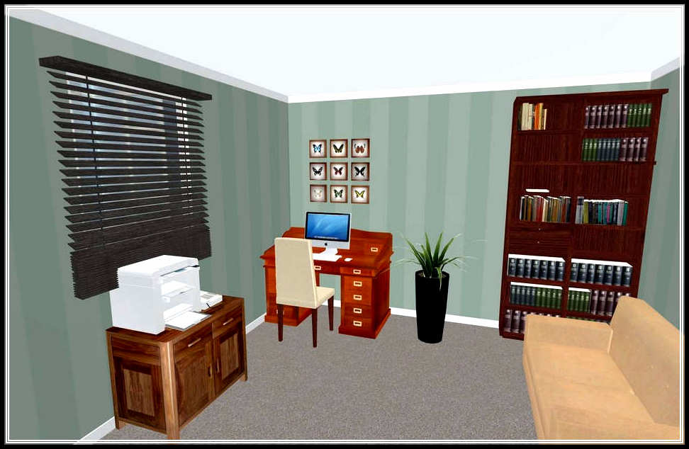 The 3d room design easiest way to understand home design for Virtual bedroom designer