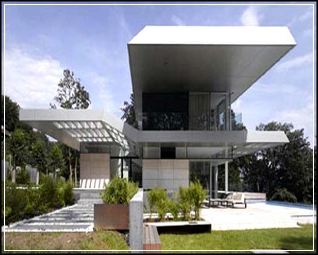 Precious Architectural Styles And Modern Home Plan For Futuristic Home on Steel Building House Plans Designs