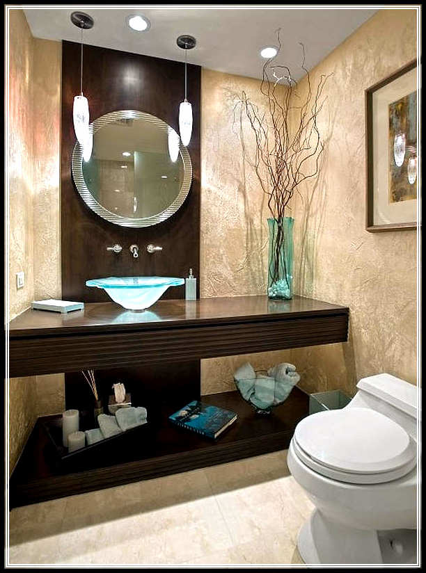 Bathroom decorating ideas for small average and large for Small bathroom decorating themes