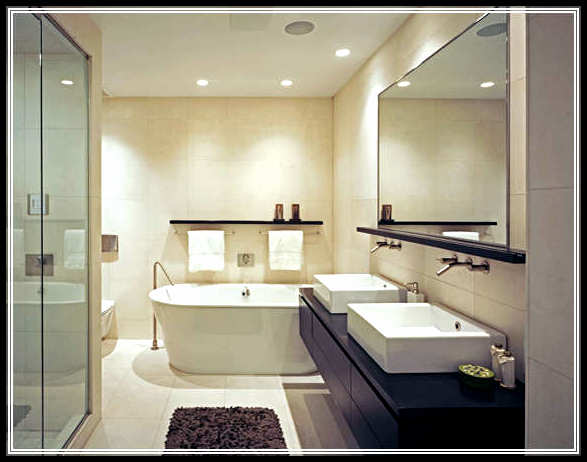 Refreshing And Relaxing Bathroom Interior Design Home Design Ideas Plans