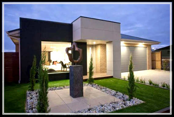 Find the best modern small home exterior design in urban for Best home exterior design