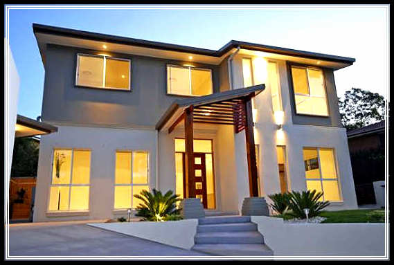 Find the best modern small home exterior design in urban area for Best home exterior design