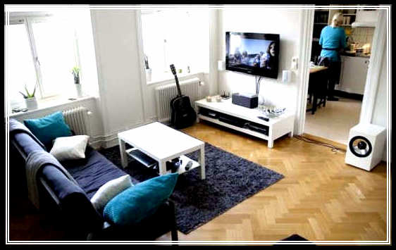 Smart tricks for home decorating ideas for small homes for Home decor ideas for small apartments