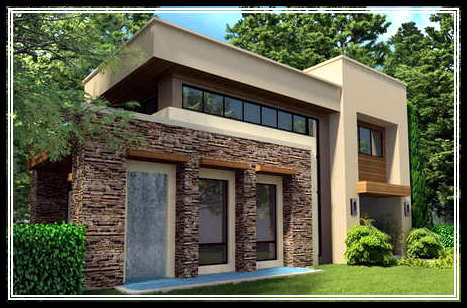 Exterior wall designs home design for Home exterior wall design