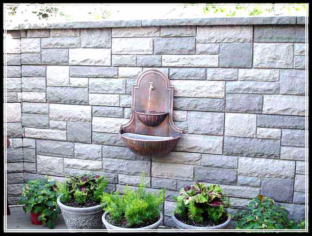 Exterior wall designs impressive ideas exterior brick wall for Wall design outside house