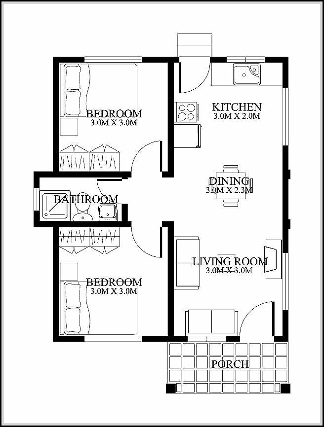 Selecting the best types of house plan designs home for Best small house floor plans