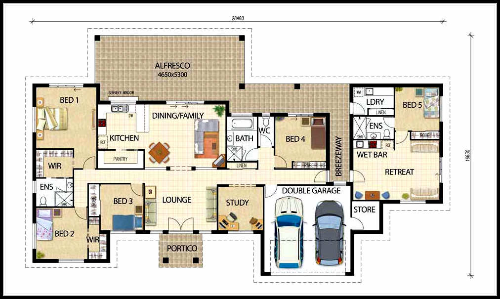Selecting the best types of house plan designs House layout plan