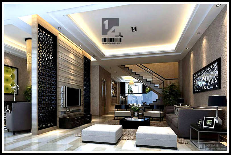 Variations for the modern living room designs home for Modern house designs 2015