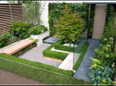small garden for small house