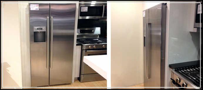 refrigerator cabinet surround