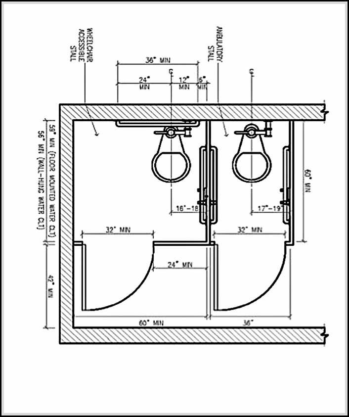 Ada Bathroom Dimensions And Guidelines For Accessible Safe Home Design Ideas Plans