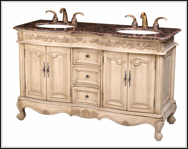 Antique bathroom vanities highly hand crafted and carved home design ideas plans - Antique bathroom vanities mississauga ideas ...