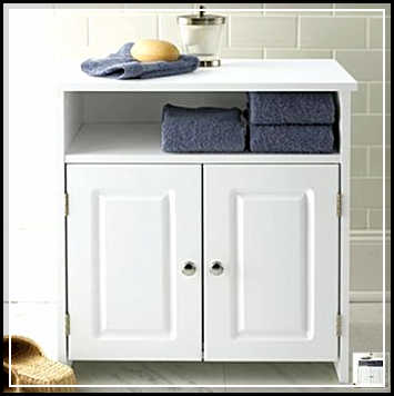 tall bathroom storage cabinets