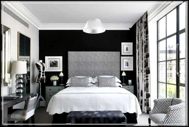 Black And White Bedroom Ideas