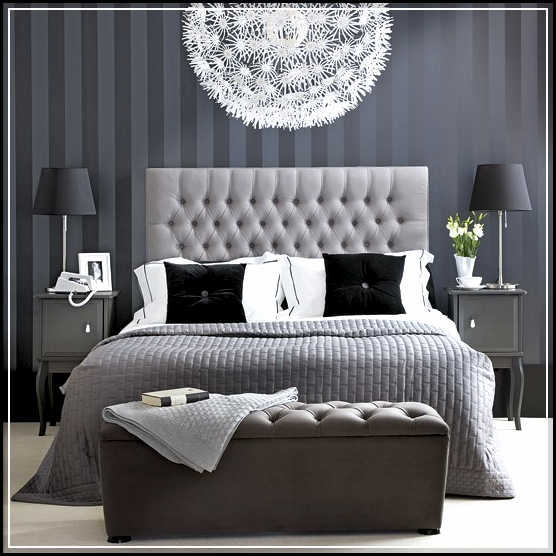 black white and gray bedroom ideas