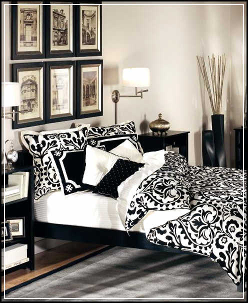 black and white room decor diy