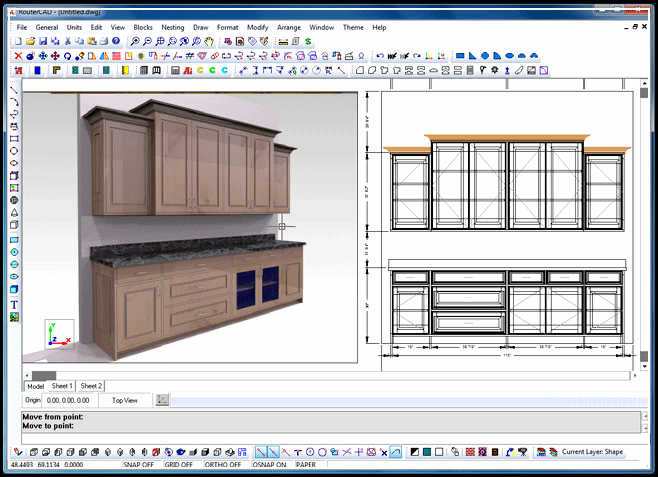 Cabinet design software design your own cabinet home for Free 3d bathroom design software