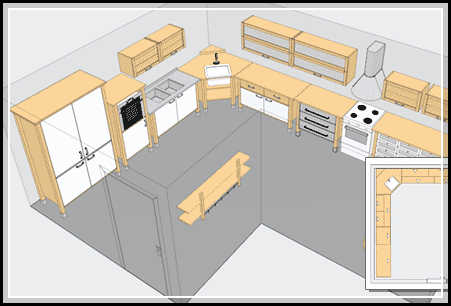 Cabinet design software design your own cabinet home for Furniture layout software