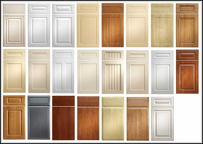 kitchen cabinet door styles pictures kitchen cabinet door styles and shapes to select home 18604