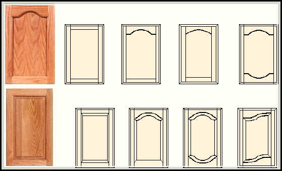 cabinet door styles and shapes to select home design ideas plans