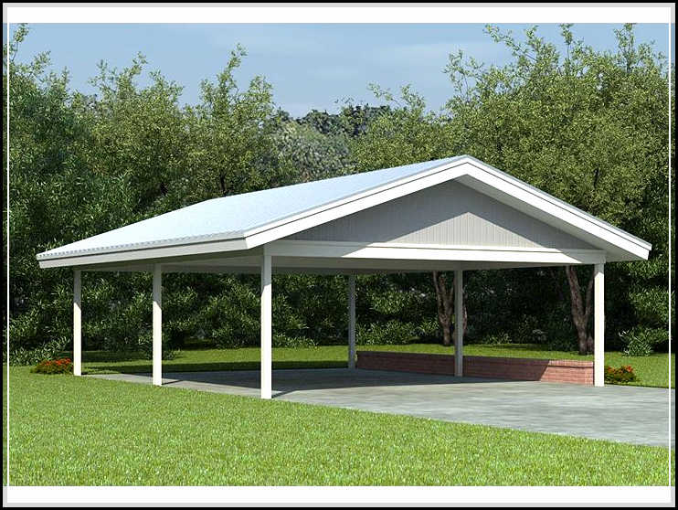 Choosing the best carport designs for the safety of your for Free standing carport plans