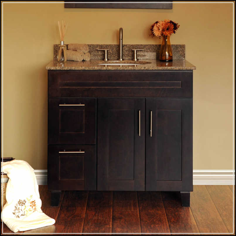 Choosing cheap bathroom vanities in the right way home design ideas plans for Inexpensive bathroom vanity ideas
