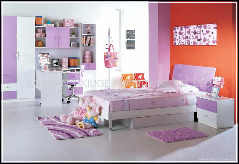 Beautiful and Cheerful Children Bedroom Sets for Girls ...
