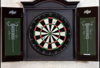 dartboard cabinet plans