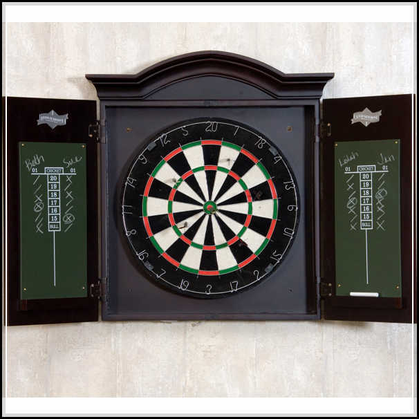 Is dart Board Cabinet Applicable?