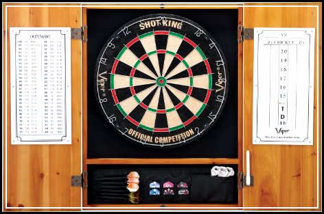 free standing dartboard cabinet plans