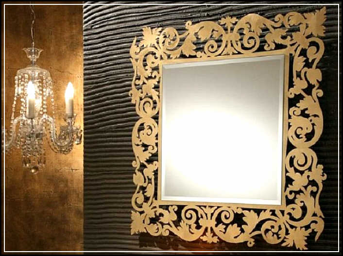 lighted bathroom mirror
