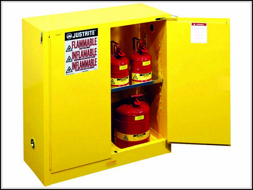 Simple Requirements To Build Homemade Flammable Storage
