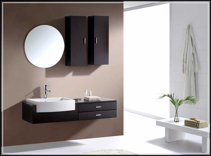 Perfect Exotic Wood Floating Vanity  Floating Bath Vanities  Pinterest