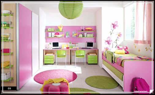 wall decor for girl bedroom