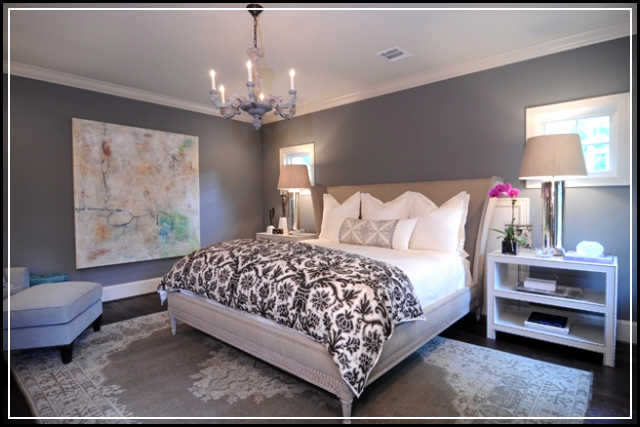 Magnificent grey bedroom ideas for romantic and masculine for Bedroom ideas in grey