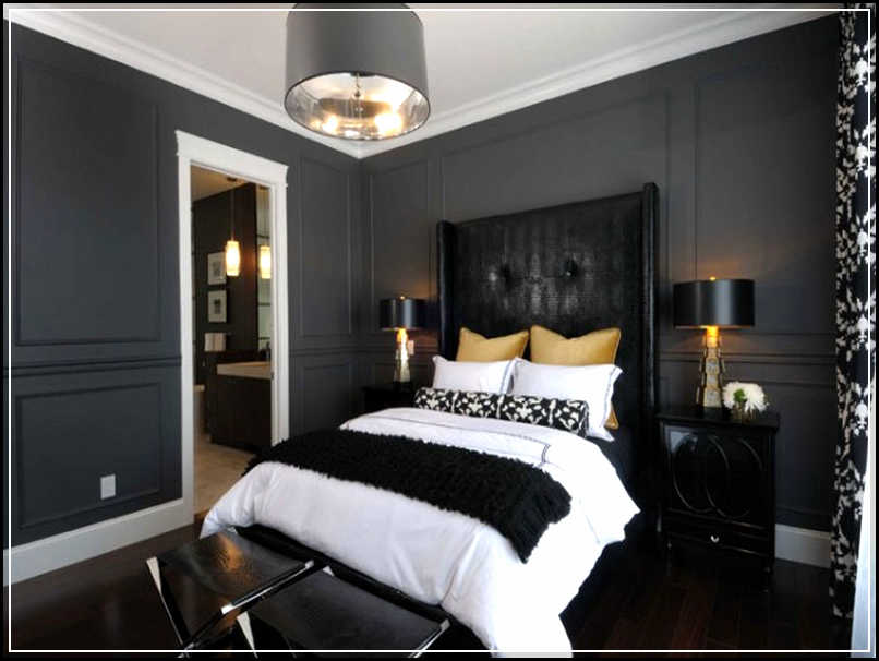 Magnificent Grey Bedroom Ideas For Romantic And Masculine Room Feeling Home Design Ideas Plans