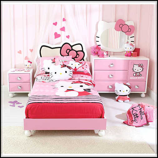 make it to your own hello kitty bedroom furniture home