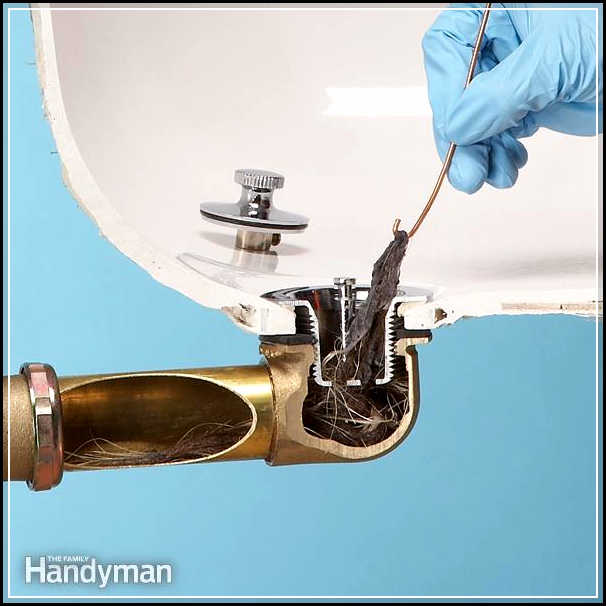 how to unclog a bathtub