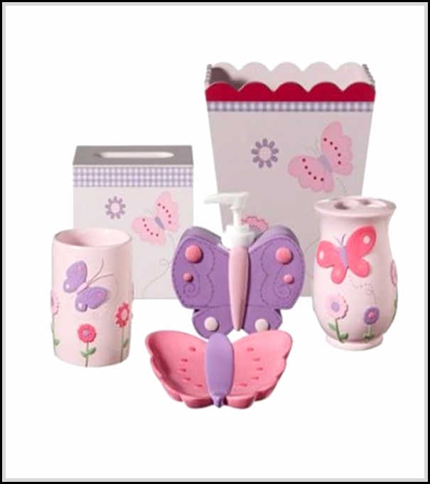 Cute and cool kids bathroom accessories for girls 39 and for Cool bathroom ideas for girls