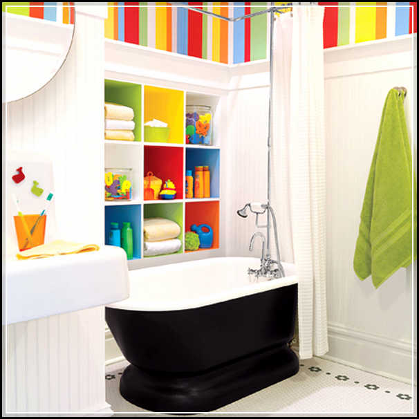 Cute And Cool Kids Bathroom Accessories For Girls And