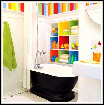 Create Wonderful Bathroom For Children With These Kids