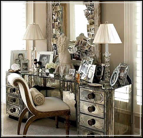 unique mirror bedroom furniture for elegant bedroom look