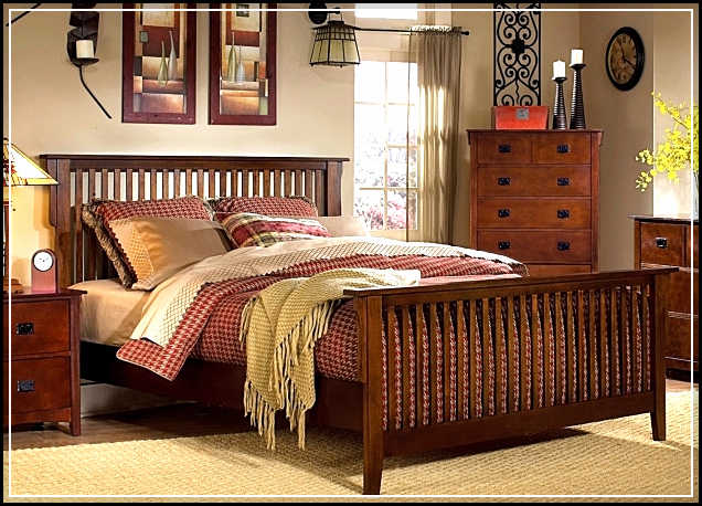 mission style bedroom furniture elegance in