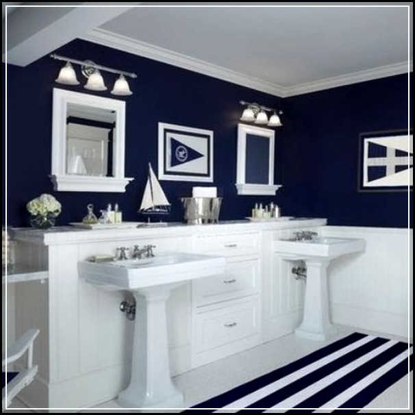 Cool Nautical Bathroom Decor Inspirations For More Attractive Look Home Des