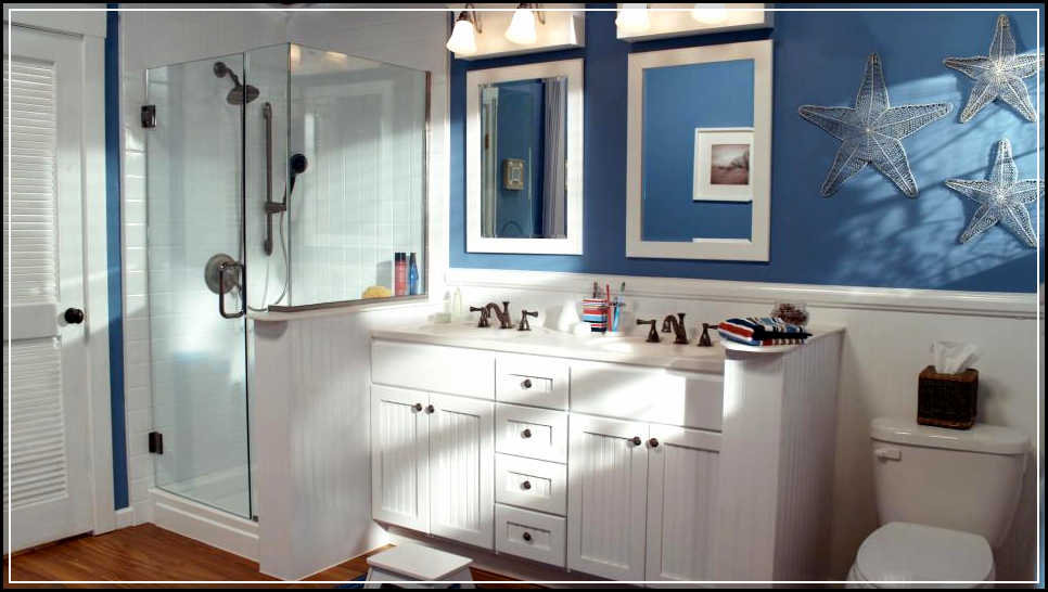 Cool nautical bathroom decor inspirations for more for Nautical bathroom decor ideas