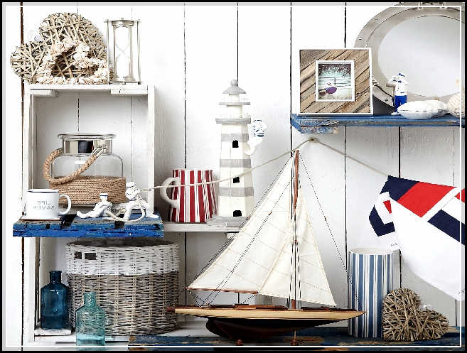 Cool nautical bathroom decor inspirations for more attractive look home design ideas plans - Nautical decor bathroom ...