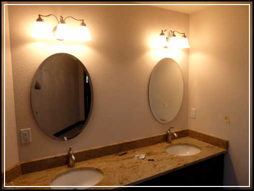 Beautiful oval bathroom mirrors to add visual interest home design ideas plans Oval bathroom mirror cabinet