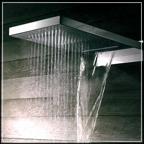 how to make your own rain shower head