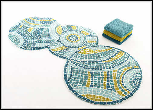 Amazing Round Bathroom Rugs