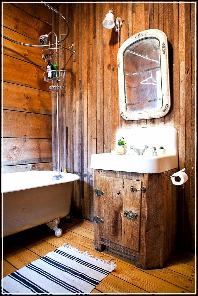 Tips to enhance rustic bathroom decor ideas home design for Bathroom looks ideas